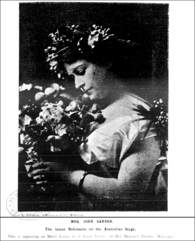 Clair Berry - Table Talk, Melbourne, 23 May 1901