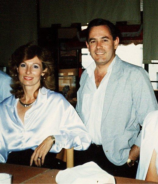 Beatrice Van der Spuy with her husband Michael John Sandes